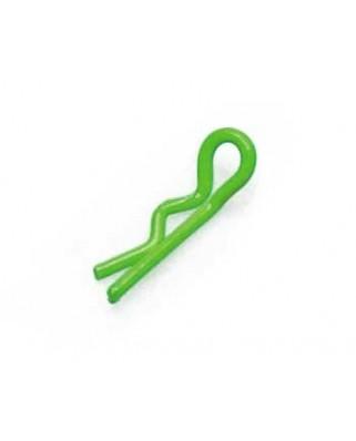 Clips carrozzeria Verde (10 pz)