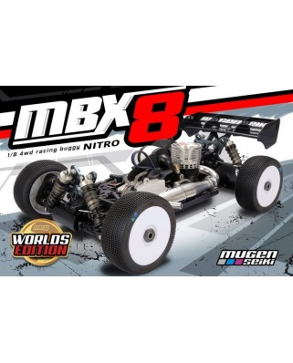 Mugen MBX8 Worlds Edition 1/8 off road Nitro buggy kit