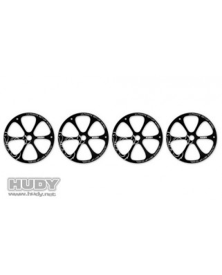 Hudy - Alu Set-Up Wheel for 1/8 Off-Road (4)