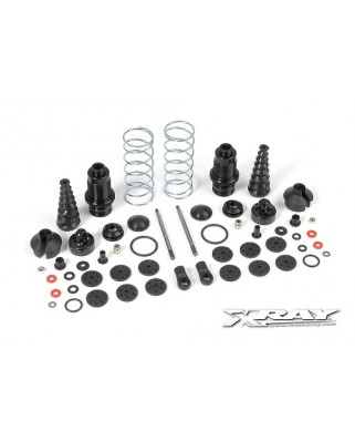 XB9 Front Shock Absorbers + Boots Complete Set (2)