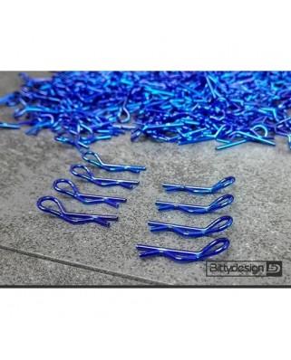 Body Clips Kit 8pcs Blue