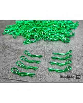 Body Clips Kit 8pcs Green