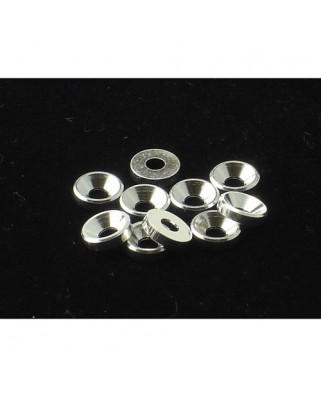 Rondelle alluminio 3MM anodizzate silver (10 pz.)