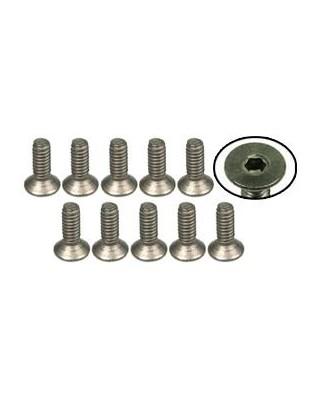 M3x8mm FH Titanium Screw (10 pcs.)