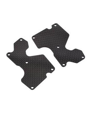 Inserto carbonio braccetto posteriore (1,2mm)