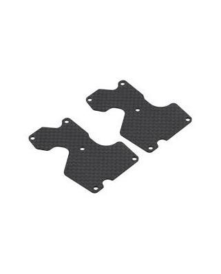 Inserto carbonio braccetto posteriore (1mm)